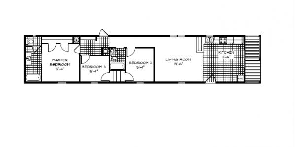 Floor plans horkheimer homes for 16 by 80 mobile home floor plans